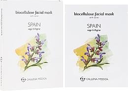 "Fragrances, Perfumes, Cosmetics Sheet Mask ""Spain"" - Calluna Medica Spain Anti-Acne Biocellulose Facial Mask"