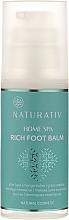 Fragrances, Perfumes, Cosmetics Foot Balm - Naturativ Home Spa Rich Foot Balm