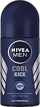 "Fragrances, Perfumes, Cosmetics Roll-On Deodorant ""Cool Kick"" - Nivea Cool Kick 48 hour"
