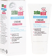 Fragrances, Perfumes, Cosmetics Face Mattifying Cream for Acne Prone Skin - Sebamed Clear Face Mattifying Cream
