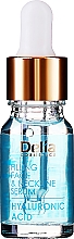 Fragrances, Perfumes, Cosmetics Hyaluronic Acid Face and Neckline Anti-Wrinkle Rejuvenating Intensive Serum - Delia Face Care Hyaluronic Acid Face Neckline Intensive Serum