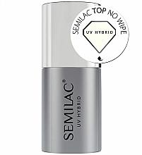 Fragrances, Perfumes, Cosmetics No Wipe Top Coat - Semilac UV Hybrid No Wipe