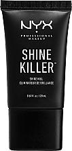 Fragrances, Perfumes, Cosmetics Mattifying Makeup Base - NYX Professional Makeup Shine Killer