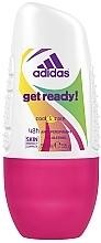 Fragrances, Perfumes, Cosmetics Deodorant - Adidas Anti-Perspirant Get Ready Cool&Care 48h