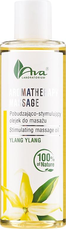 Ylang-Ylang Stimulating Massage Oil - Ava Laboratorium Aromatherapy Massage Stimulating Massage Oil Ylang-Ylang