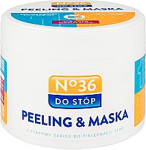 Fragrances, Perfumes, Cosmetics 2-Step Foot Peeling Mask - Pharma CF No.36 Peeling & Mask