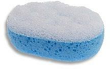 "Fragrances, Perfumes, Cosmetics Shower Sponge ""Relax"", white-dark blue 6018 - Donegal"