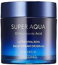 Fragrances, Perfumes, Cosmetics Moisturizing Face Cream-Balm - Missha Super Aqua Ultra Hyalron Balm Cream Original