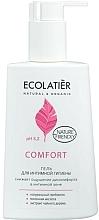 Fragrances, Perfumes, Cosmetics Intimate Wash Gel with Lactic Acid & Probiotic - Ecolatier Comfort