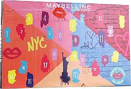 "Fragrances, Perfumes, Cosmetics Set ""Advent Calendar 2020"" - Maybelline Advent Calendar 2020"
