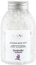 "Fragrances, Perfumes, Cosmetics Mineral Bath Salt ""Lavender"" - Kanu Nature Lavender Mineral Bath Salt"