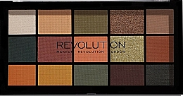 Fragrances, Perfumes, Cosmetics Eyeshadow Palette - Makeup Revolution Division Re-loaded Palette