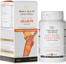 Fragrances, Perfumes, Cosmetics Anti-Cellulite Food Supplement - Noble Health Get Slim Cellulite