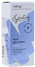 Fragrances, Perfumes, Cosmetics Intensive Moisturizing Facial Gel Cream for Dry Skin - Kili-g Hydrating Face Gel Cream