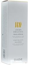 Fragrances, Perfumes, Cosmetics Moisturizing Cream for Problem Dry Skin - Babe Laboratorios Emollient Cream