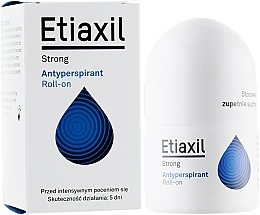 Fragrances, Perfumes, Cosmetics Long-Term Protection Antiperspirant for Normal Skin - Etiaxil Strong Antiperspirant Roll-on