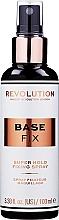 Fragrances, Perfumes, Cosmetics Makeup Fixing Spray - Makeup Revolution Base Fix Makeup Fixing Spray