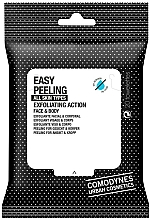 Fragrances, Perfumes, Cosmetics Exfoliating Face and Body Wipes - Comodynes Easy Peeling Exfoliating Action Face and Body