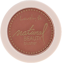 Fragrances, Perfumes, Cosmetics Face Compact Blush - Lovely Natural Beauty Blusher