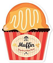 Fragrances, Perfumes, Cosmetics Facial Sheet Mask - Dr. Mola Muffin Gingerbread Sheet Mask