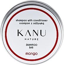Fragrances, Perfumes, Cosmetics 2-in-1 Shampoo in Metal Box - Kanu Nature Shampoo With Conditioner Shampoo Bar Mango
