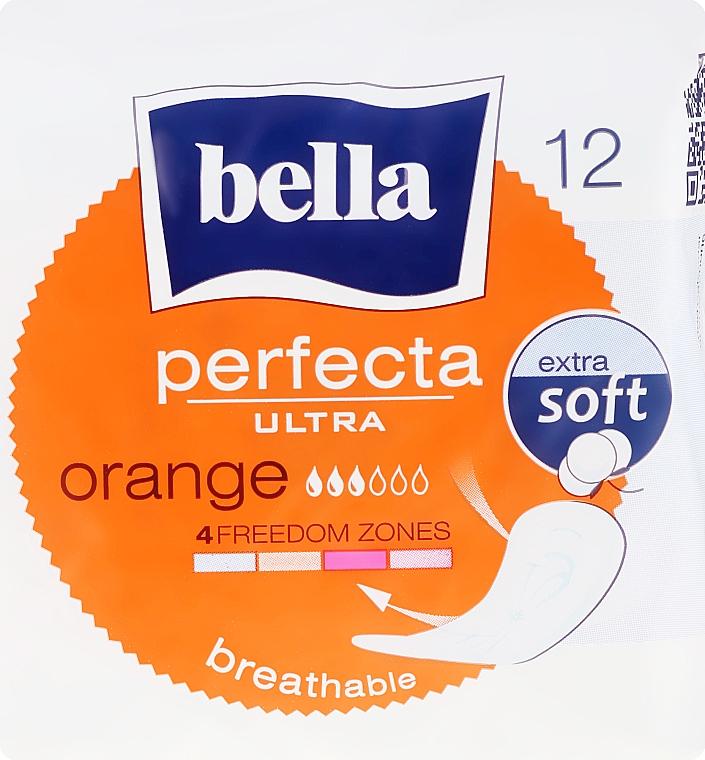 Sanitary Pads Perfecta Ultra Orange, 12 pcs - Bella