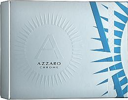 Fragrances, Perfumes, Cosmetics Azzaro Chrome - Set (edt/50ml + deo/75ml)