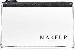 "Fragrances, Perfumes, Cosmetics Clear Makeup Bag ""Flat Glow"" 21x12 cm - MakeUp"