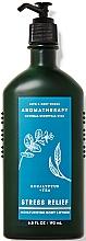 Fragrances, Perfumes, Cosmetics Bath and Body Works Eucalyptus Tea Stress Relief - Body Lotion
