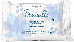 Fragrances, Perfumes, Cosmetics Refreshing Intimate Wash Wipes - Oriflame Feminelle Refreshing Intimate Wipes