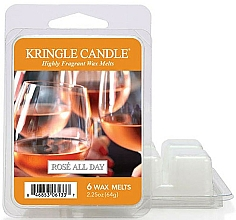 Fragrances, Perfumes, Cosmetics Aroma Lamp Wax - Kringle Candle Rose All Day Wax Melts