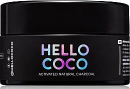 Fragrances, Perfumes, Cosmetics Whitening Charcoal Tooth Powder - Hello Coco Sweet Mint Activated Natural Charcoal Teeth Whitener