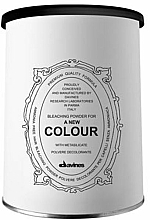 Fragrances, Perfumes, Cosmetics Lightening Powder - Davines A New Colour Bleaching Powder
