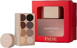 Fragrances, Perfumes, Cosmetics Set - Paese Selflove Set 3 (eyeshadow/12g + eye/powder/5.3g)