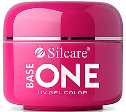 Fragrances, Perfumes, Cosmetics Nail Gel Polish - Silcare Base One Red Gel Color