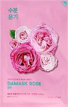 Fragrances, Perfumes, Cosmetics Damask Rose Moisturizing Face Sheet Mask - Holika Holika Pure Essence Mask Sheet Damask Rose