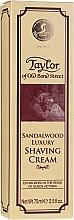 "Fragrances, Perfumes, Cosmetics Shaving Cream ""Sandalwood"" - Taylor Of Old Bond Street Sandalwood Luxury Shaving Cream (in tube)"