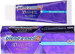 Fragrances, Perfumes, Cosmetics Toothpaste - Blend-a-med 3d White Healthy Shine Toothpaste