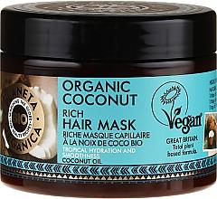 Fragrances, Perfumes, Cosmetics Hydrating Hair Mask - Planeta Organica Organic Coconut Rich Hair Mask