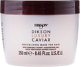 Fragrances, Perfumes, Cosmetics Revitalizing Hair Mask - Dikson Luxury Caviar Revitalizing Mask For Hair