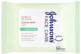 Fragrances, Perfumes, Cosmetics Wet Wipes - Johnson's Face Care Clear Skin Wipes