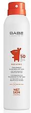 Fragrances, Perfumes, Cosmetics Kids Sun Spray SPF50+ - Babe Laboratorios Pediatric Wet Skin