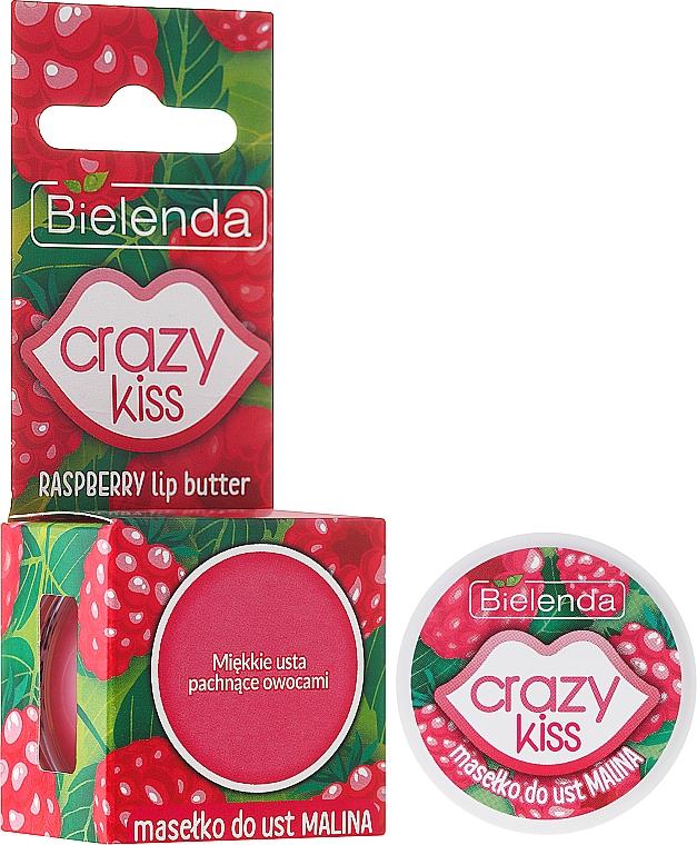 """Lip Butter """"Raspberry"""" - Bielenda Crazy Kiss Raspberry Lip Butter"""