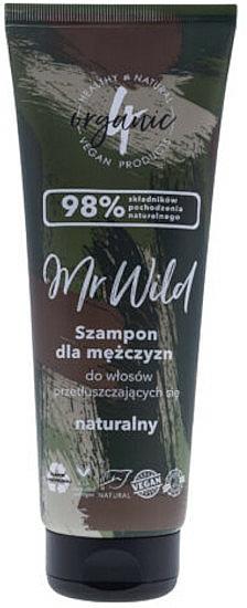 Men Shampoo for Greasy Hair - 4Organic Mr Wild Shampoo For Men For Greasy Hair