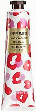 "Fragrances, Perfumes, Cosmetics Nourishing Hand Cream ""Red Plum"" - The Saem Perfumed Red Plum Hand Shea Butter"