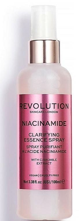 Facial Spray - Makeup Revolution Niacinamide Clarifying Essence Spray