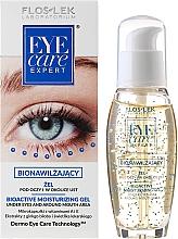 Fragrances, Perfumes, Cosmetics Bioactive Moisturizing Eye Gel - Floslek Eye Care Bioactive Moisturizing Gel Under Eyes And Around Mouth Area