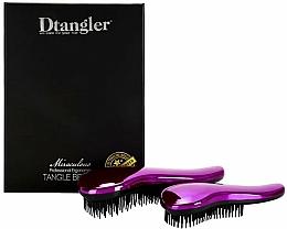 Fragrances, Perfumes, Cosmetics Hair Brush Set - KayPro Dtangler Miraculous Purple (2xbrush)