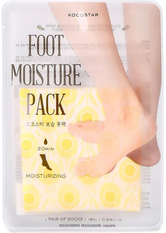 Moisturizing Foot Care-Mask - Kocostar Foot Moisture Pack Yellow