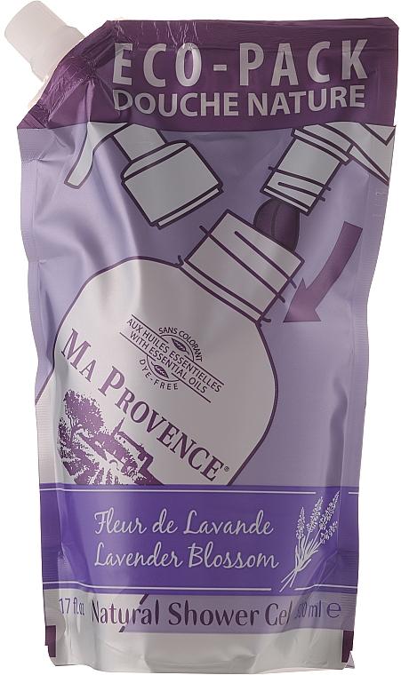 Lavender Shower Gel in Eco-Pack - Ma Provence Shower Gel Lavender — photo N1